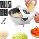 Wet Basket Vegetable Cutter - Multifunction Vegetable Cutter with Drain Basket