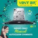 INNOVA MUSIC 90 Ventair Kitchen Chimney