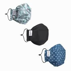 Carriall Adult Unisex Mask (Pack Of 3)