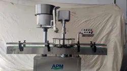 Automatic Pesticide Cap Sealing Machine