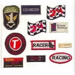 Multicolor Woven Labels And Stickers, For Promotion, Packaging Type: Packet