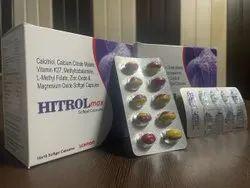 Calcitriol Calcium Citrate Malate Vitamin K7, 10x10 Softgel Capsules