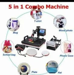Sublimation Machine Combo Heat Press 5 In 1
