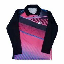 Mens Full Sleeves Sublimation T Shirt