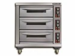 Berjaya Electrical Baking Oven 3 Deck 9 Tray Model BJY-E25KW-3BD