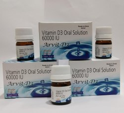 Cholecalciferol (Vitamin D3) 60000iu (Oral Solution)