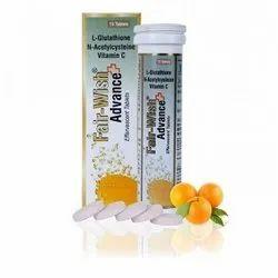 fair wish glutathione effervescent tablets