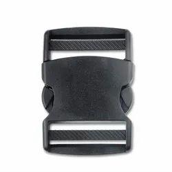 Black Heavy Bag Push Buckle Clip