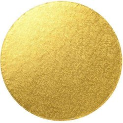 7 Inch Gold Foil Cake Base Board