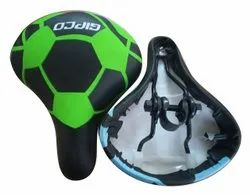 Black and Green 302 MODEL BICYCLE SADDLE IN REXINE