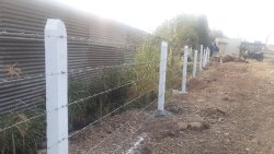 Barbed Wire Fencing Work