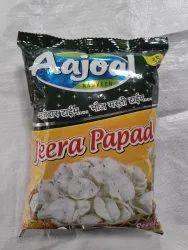 Aajoal Fyrums Jeera Papad Fryums, Packaging Size: 50 Gm