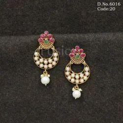Traditional Pearl Earrings