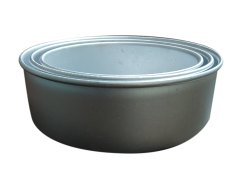 Silver Aluminium Round Cake Baking Pan, Inside Outside Finish: Polished, Thickness Millimetre: 2 Mm