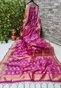 Banarsi Silk With The Fancy Soft Pure Silk Fabric And Blouse
