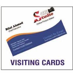 Cardboard Visiting Cards