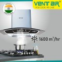 Smiley 90 SS Ventair Kitchen Chimney