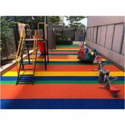 EPDM Epdm,Pu Outdoor Sports Flooring, For Kids Garden