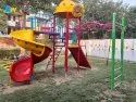 Spiral Station FRP Mini Play Station For Outdoor Park