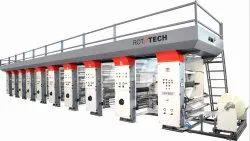 Roll To Roll Rotogravure Printing Machine