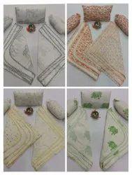 Hand Block Printed Cotton Baby Wedding Set