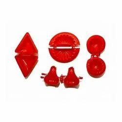 Sajawat Kitchenware Red Plastic Food Shaper