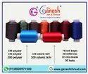 白色染色涤纶纱线,用于纺织行业,支数:100d