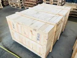 Pine Wood Brown 4 Way Wooden Pallet Box, For Industrial, Weight Holding Capacity(Kg): 301-1000 Kg