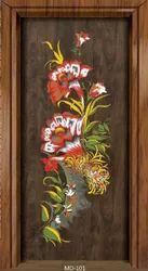 Wood Glossy Telsia Door Premium Hand Carving Lamination Door