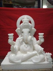 dugru seth marble ganesh statue