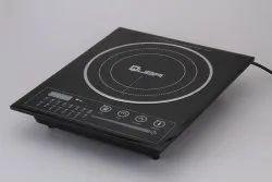 Quba 2000 Watt 4010 Crystal Plate Built In Induction Cooker, Touch, 3 KG