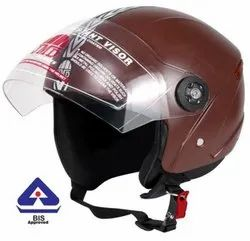 JMD Grand Premium Open Face Helmet (Choclate Brown)