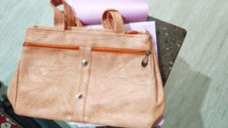 Brown Pu Leather Ladies Fashion Bag