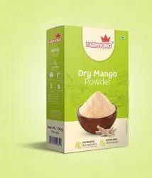 50gm Dry Mango Powder, Packaging Type: Box