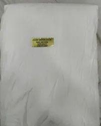 WHITE Plain Viscose Santoon Fabric