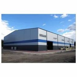 MS Prefabricated Industrial Shed