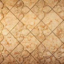Square Decorative Floor Tile, Size/Dimension: 350 x 350 mm, 10 mm