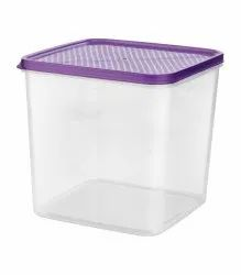 Square Airtight Plastic Food Container 7000 ml