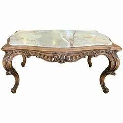1kg 500gm Wooden Modern Center Table