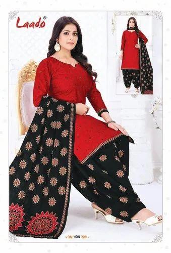Laado Priti Patiyala Vol 4 - Dress Material