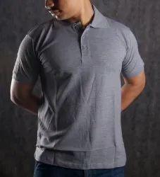 Mens Half Sleeve Cotton Polo T Shirt