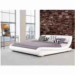 White Designer Foam Bed, For Home, Hotel, Size: 6x5.5 Feet