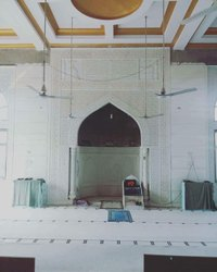 White Carved Marble Masjid Mihrab