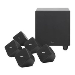 Denon 5.1 Speaker System, Model Name/Number: SYS2020, 100 Watts