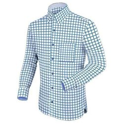 Cotton Checks Mens Check Formal Shirt, Handwash