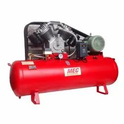 Single Stage Two Cylinder Air Compressor