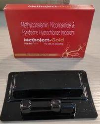 Methylcobalamin 1500mg+ Nicotinamide 100mg + Pyridoxine 100mg Injection