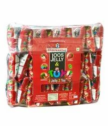 Bhagwandas Strawberry Joos Jelly Candy, Packaging Type: Packet, Packaging Size: 30 Sachet