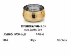 Brass And Stainless Steel Sovereign Bowl