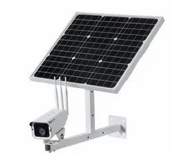 Network 2 MP Solar Powered 4G Wireless CCTV Camera, For Outdoor Use
